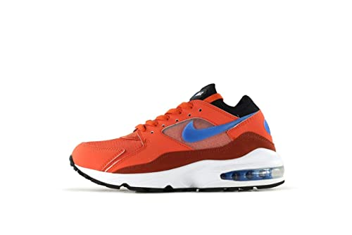 watch 6d16c 67f7f Nike Air Max 93, Scarpe da Ginnastica Basse Uomo, Multicolore (Vintage  Coral