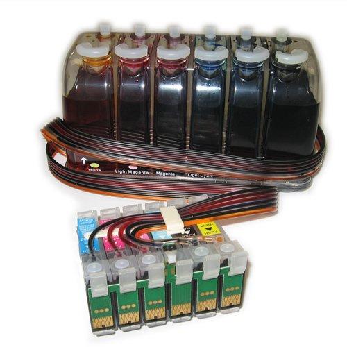 Gigablock Bulk Continuous Ink System (CIS) for: Epson R22...