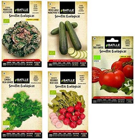 Pack semillas ecológicas Batlle: Amazon.es: Jardín
