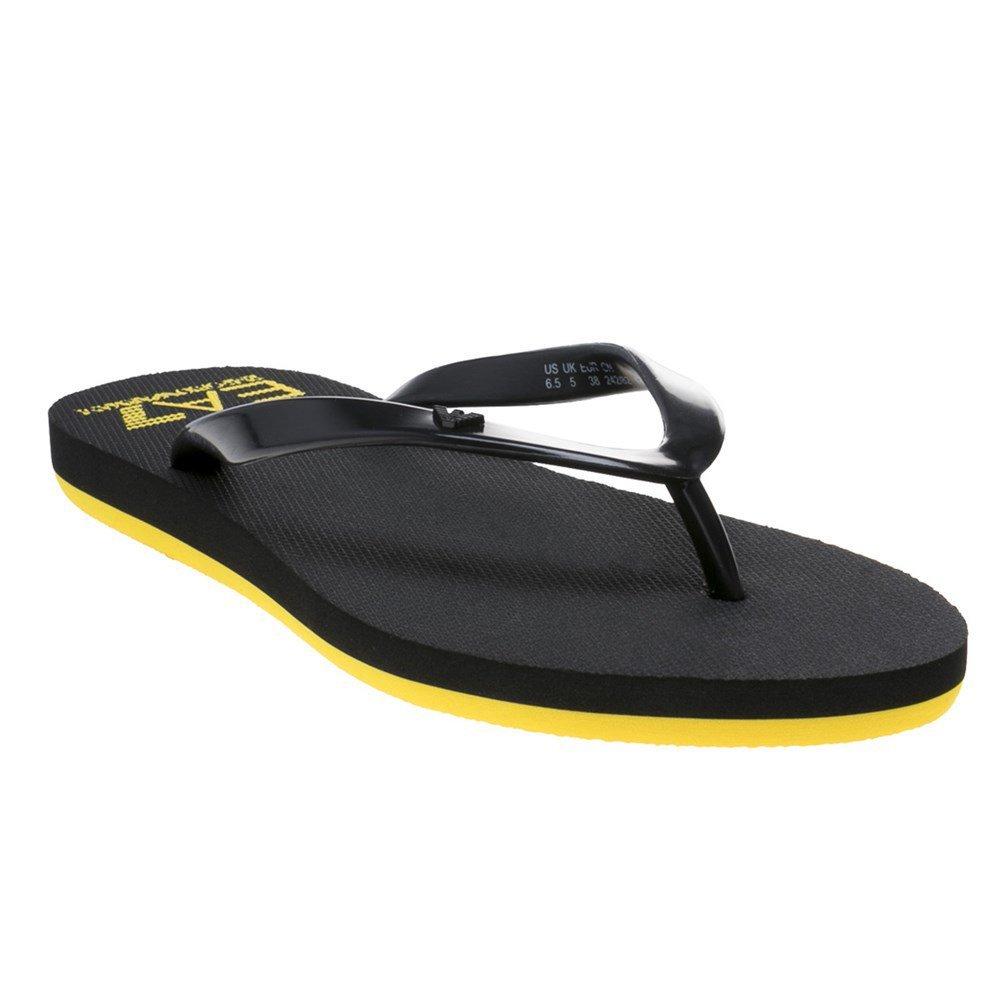 42eedff2fe928 Amazon.com  Ea7 Core Active W Flip Flop Womens Sandals Navy  Clothing