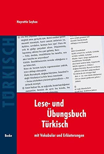 Lese- und Übungsbuch Türkisch: mit Vokabular und Erläuterungen
