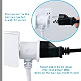 FlePow Outlet Power Strip 1625W/13A 5.9ft Cord Home/Office Surge Protector with 6 USB Charging Ports (5V/2.4A2 and 5V/1A4) for Smartphones and Tablets, 6A6U Pass-Through Design