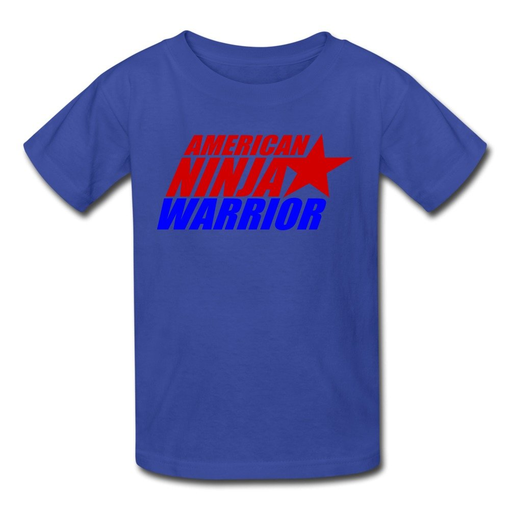 Kids Cool American Ninja Warrior Logo T-Shirts by Mjensen