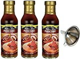 Walden Farms Pancake Syrup 3 Pack With Mini Funnel