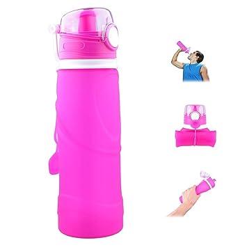 Bial Ho 750 ml plegable botella de agua aprobado por la FDA ...
