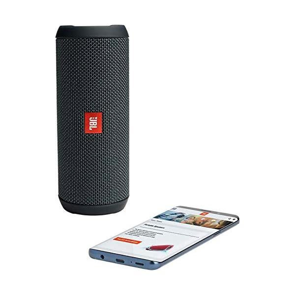 JBL Flip Essential - Enceinte Bluetooth portable robuste - Étanche IPX7 pour piscine & plage - Autonomie 10 hrs - Qualité audio JBL - Noir 3