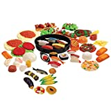 Constructive Playthings CPX-698 Realistic World Food Set