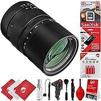Oshiro 135mm f/2.8 Telephoto Full Frame for Canon Digital SLR Cameras + 20PC Kit for EOS 80D, 77D, 70D, 60D, 7D, 6D, 5D, 7D Mark II, T7i, T6s, T6i, T6, T5i, T5, SL1 & SL2 Digital SLR Cameras