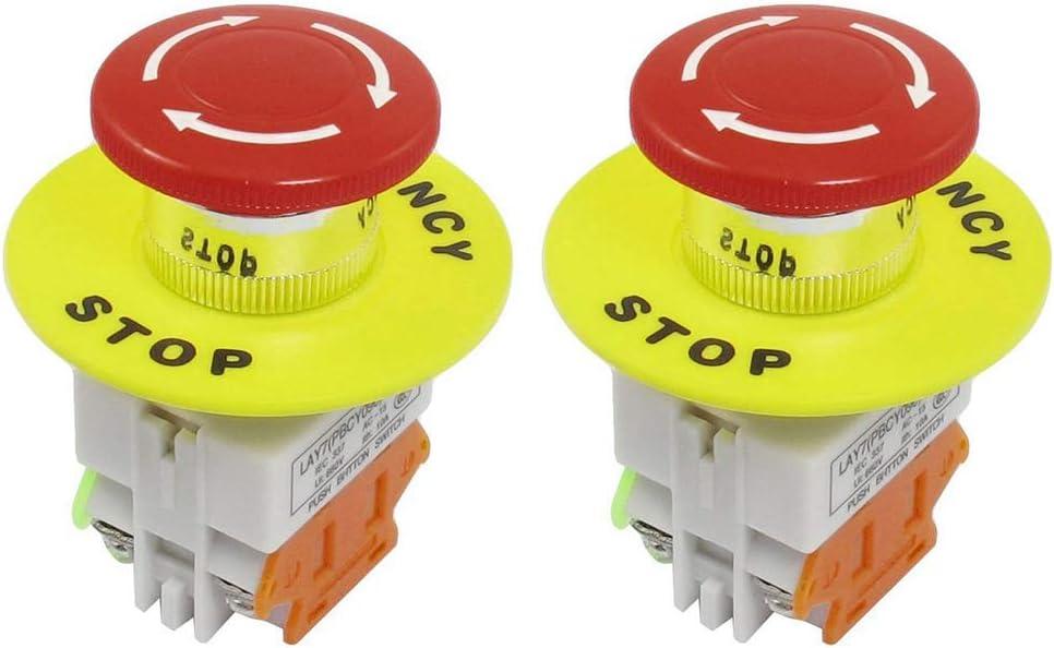 400V 10A 6000A Rail plomo ON OFF del interruptor de 2 polos del cortocircuito del interruptor 230V