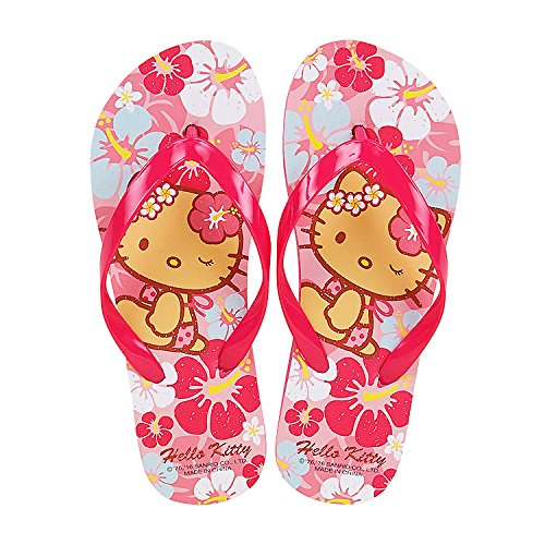 03a6fc9bd Sanrio Hello Kitty Flip Flops Kids Slippers Summer Shoes : Aloha Suntan  ([Kids] US size 10-11 (16.5cm - 17.5cm) ) - Buy Online in UAE. | Misc.