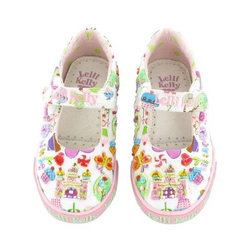 (Lelli Kelly Clara Shoes (4) White )