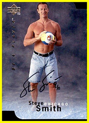 - 1995-96 BAP Be A Player AUTOGRAPH Die Cut #S123 Steve Smith CHICAGO BLACKHAWKS