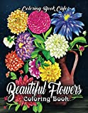 Beautiful Flowers Coloring Book: An Adult