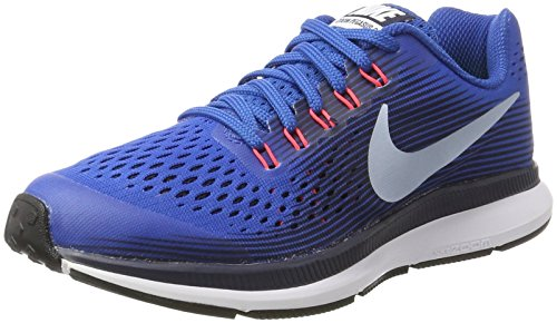 obsidian Jay lt 34 Nike Gs Chaussures Blue Armory Running Red blue Zoom Pegasus Fille Bleu De solar wWq1x6fWFv