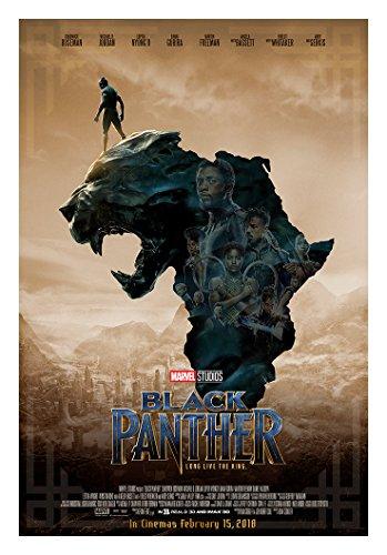 (KodiakPrints Black Panther (Africa Ver. F) Movie Poster Size 24