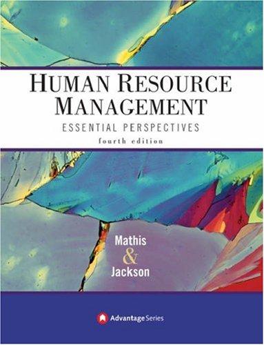 Advantage Books: Human Resource Management: Essential Perspectives -