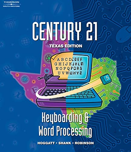 SE, Texas Ed, Century 21 Keyboarding and Word Processing