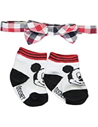 """Mickey Mouse Baby Boys' """"Party Time"""" Bowtie & Booties Set"""