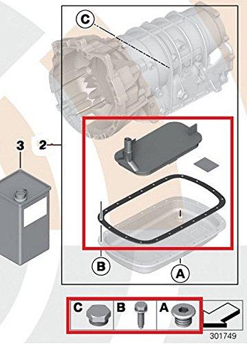 Amazon com: BMW Genuine Automatic Transmission Fluid Filter