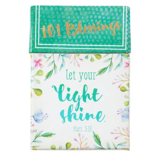(Let Your Light Shine Cards - A Box of Blessings, 101 Encouraging)