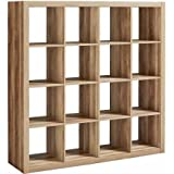 Better Homes and Gardens 16 -Cube Organizer, Weathered