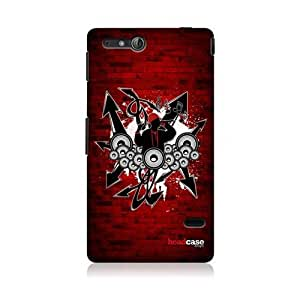 Hiphop Music Genre Design Back Case Cover For Sony Xperia go ST27i