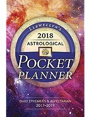 Llewellyn's 2018 Astrological Pocket Planner: Daily Ephemeris & Aspectarian 2017-2019