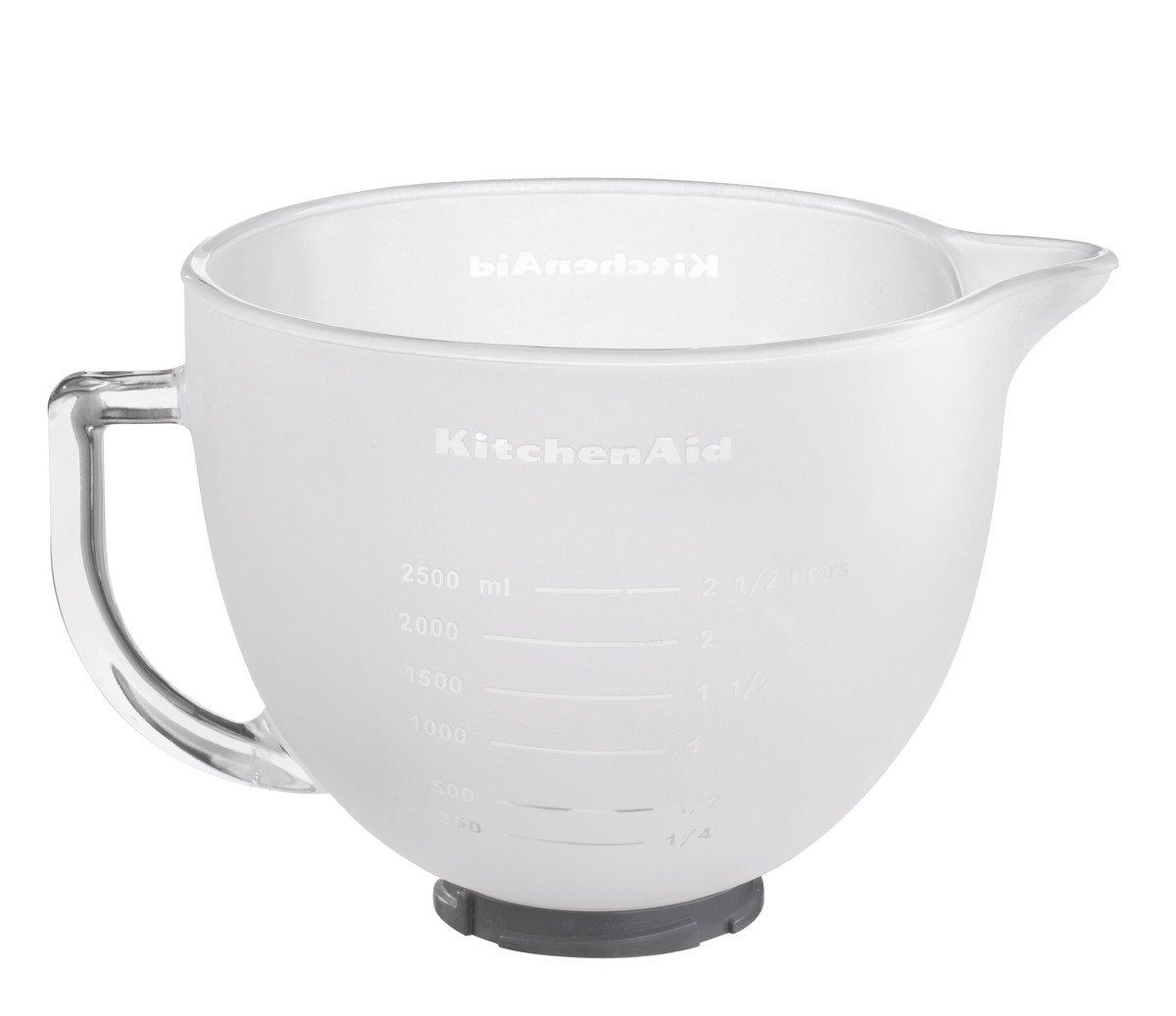 Kitchenaid 5K5FGB Milchglasschüssel, 4.83 L