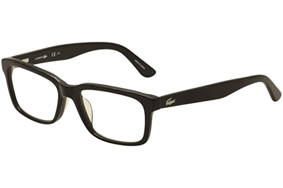 Amazon.com: LACOSTE Eyeglasses L2672 001 Black 54MM: Clothing