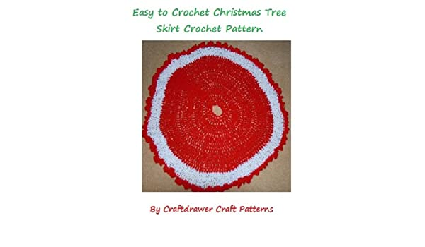 Amazon Easy To Crochet Christmas Tree Skirt Pattern An Easy