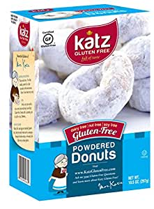 Katz, Gluten Free Powdered Donuts, 10.5 Ounce (1 Pack)