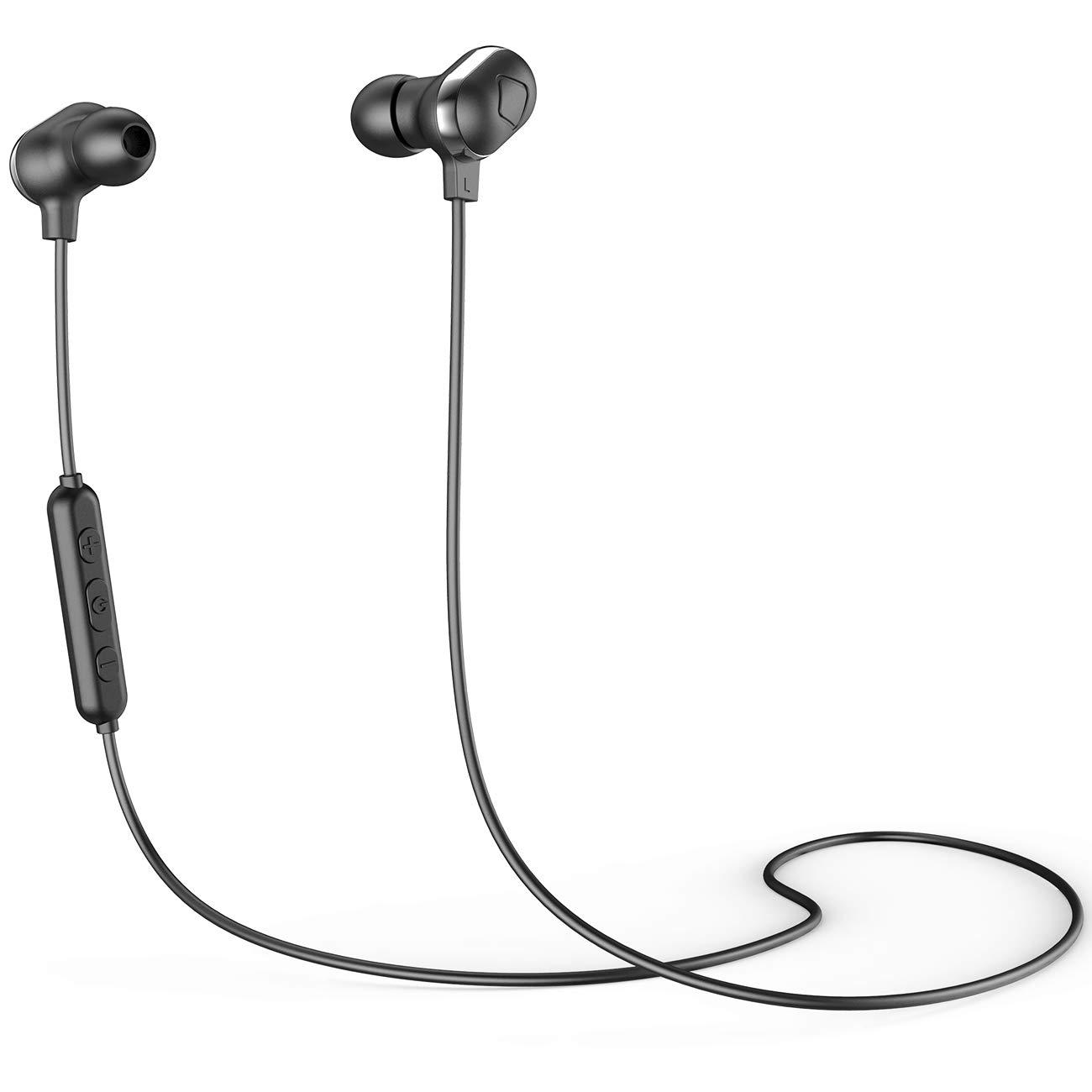 Brisario Bluetoothイヤホン ワイヤレスヘッドホン ノイズキャンセリング aptX HD-対応 ブラック B07RKW9CTQ