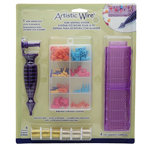 Artistic Wire, Craft Wire Writing System Kit, Forms Letters & (Wire Writer)