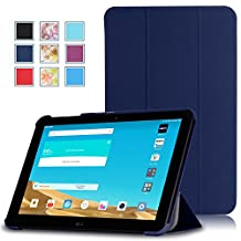 LG G PAD X 10.1 Case - MoKo Ultra Slim Lightweight Smart-shell Stand Cover with Auto Wake / Sleep for LG G Pad 2 10.1 inch (V940) / LG G PAD X 10.1 Inch (4G LTE AT&T V930) Android 2015 Tablet, INDIGO