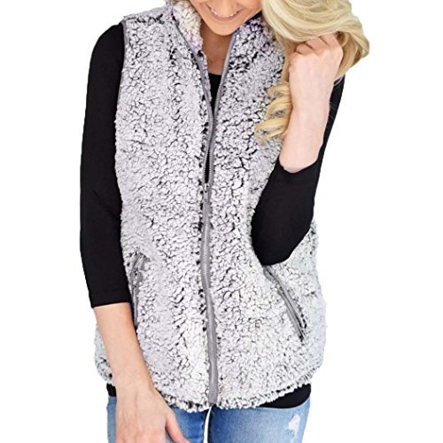 Veste Veste Femmes Mme Elecenty Fausse Chaude Chaud Outwear Fourrure de en Fermeture de Casual d'hiver d'hiver Veste wAIYPYxqS
