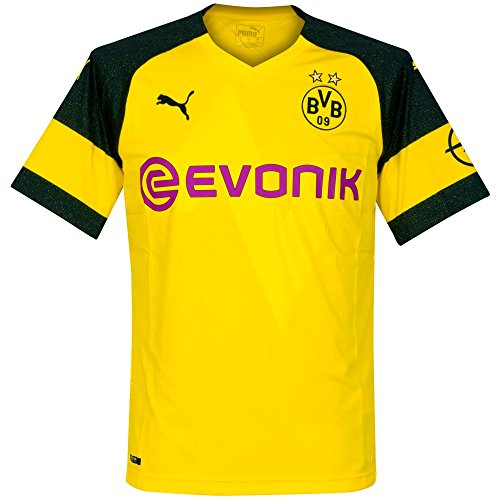 PUMA 2018-2019 Borussia Dortmund Home Football Shirt