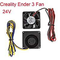 Creality Original 4010 Blower 40x40x10MM 24V DC Cooling Fan and 24V Circle Fan for 3D Printer Parts Ender 3 by Creality 3D