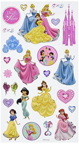 Disney Princess True Princess Sticker (Page Scrapbook Snow)