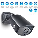 JOOAN Outdoor Security Camera, 720P Security Camera 1.0 Megapixel IP Camera Network Camera Weatherproof CCTV Security Camera