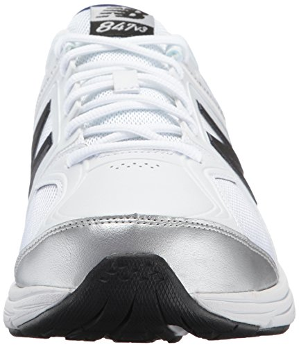 New Balance Mens 847v3 Walking Shoe Bianco / Grigio