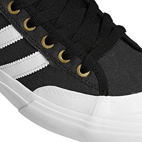 adidas Matchcourt Mid, Chaussures de Skateboard Homme Noir