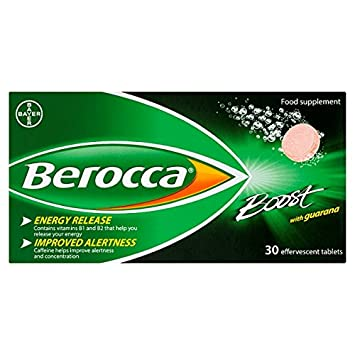 Amazon.com: Berocca – Boost 30 comprimidos (Pack de 3 ...
