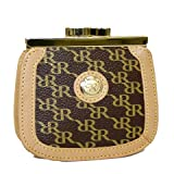 Aristo Brown Coin Purse by Rioni Designer Handbags  and  Luggage