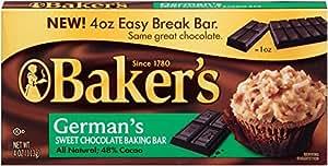 Baker's German's Sweet Chocolate, 4 oz