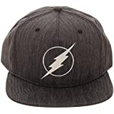 1917c08b6fd Bioworld DC Comics The Flash Iridescent Weld Woven Fabric Snapback Cap Hat