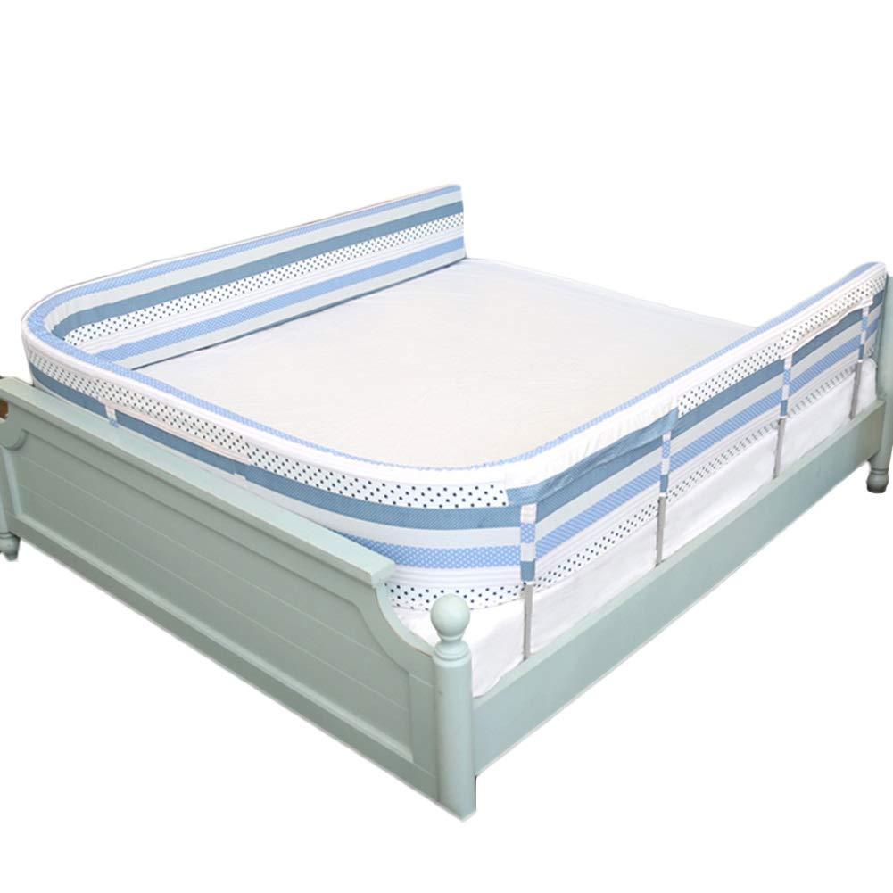 ベッドフェンス 幼児のための綿のベッドの柵、シングル/ダブルベッドのための携帯用ベッドの監視バンパーの子供の安全監視 - 家、ホテル、旅行のために大きい (Color : 1.8m×3)  1.8m×3 B07TBYTZXS