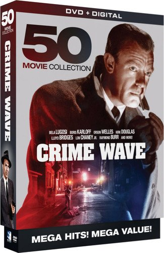 Crime Wave - 50 Movie MegaPack - DVD+Digital (Best Value Iphone Deals)