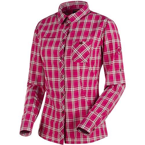 Mammut Alessandria Longsleeve Shirt Women magenta-dolomite