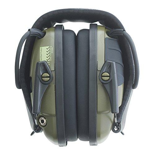 -[ Honeywell 1013530 Howard Leight Impact Sport Earmuff, Green  ]-