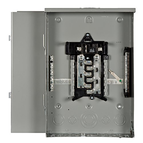 Murray LW1224B1100 Load Center, 12 Space, 24 Circuit, Main Breaker, 100A by Murray